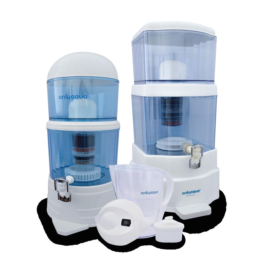 Filtros alcalinizadores de agua