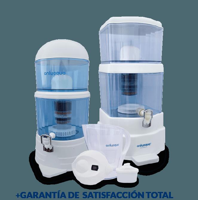 Filtro alcalinizador de agua